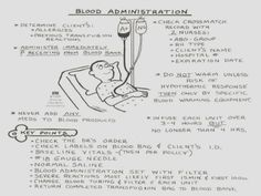 bloopz:  Blood administration diagram. :)