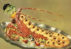 Lobster Bellevue Art of French Cooking 1962