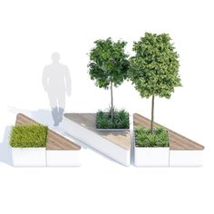 Staubach & Kuckertz Landscape Architecture Drawing, Landscape And Urbanism, Landscape Elements, Landscape Design Plans, Architecture Details, Architecture Diagrams, Architecture Portfolio, Urban Furniture, Street Furniture