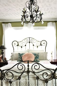 Saving the Antique Iron Bed - Asheville Blog