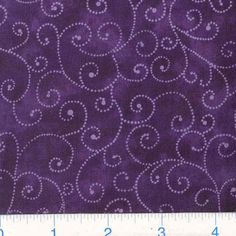 Moda Marble Swirls (9908-22) Purple from @fabricdotcom  Designed for Moda Fabrics, this classic blender cotton print features white swirls on a purple marbled background.
