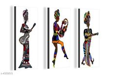 Paintings & Posters Attractive Trendy Wall Posters  Material: MDF  Size- (L X W ): 36 cm X 45 cm Description: It Has 3 Pieces Of Wall Poster Work: Printed Country of Origin: India Sizes Available: Free Size   Catalog Rating: ★4.1 (3962)  Catalog Name: Navratri Multicolor Attractive Trendy Wall Posters Vol 5 CatalogID_622663 C127-SC1611 Code: 981-4339513-792