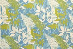 CAA0137 - 100% Cotton Fabric: All-Over Hawaiian Print Fabric