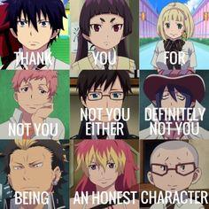 Blue Exorcist Funny, Blue Exorcist Mephisto, Blue Exorcist Anime, Ao No Exorcist, Rin Okumura, Manhwa, Otaku, Blue Flames, Anime Fairy