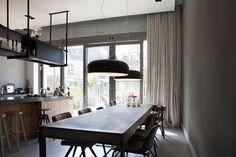 INSPIRATIE | Linnen gordijnen passen uitstekend binnen een stoer en ...