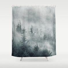 Simbiosis II Shower Curtain