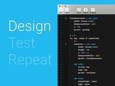Design -> Test -> Repeat by Vincenzo Petito