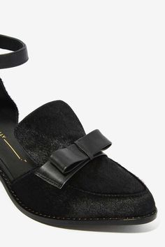 Intentionally Blank Dean Pony Hair Flat - Flats | Back In Stock | Back In Stock