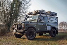Land Rover Defender 110 Hardtop expedition/overland.