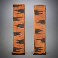 View 1: The art of weaving stands paramount in the creative traditions of the Rwandan tribes. With their distinctive, angular patterning, Tutsi weavings are instantly recognizable and announce their unmistakable lineage in bold and irrepressible fashion.