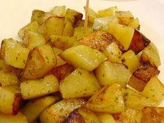 pomme de terre, ail, persil, sel, eau, huile