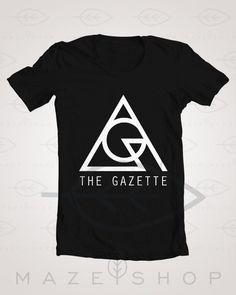 The Gazette Logo Black Moral Vermin T Shirt One ok Rock Girugamesh Babymetal SUG #Handmade #BasicTee