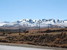 Snow on the Mountains in Elliot