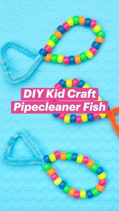 DIY Kid Craft | Pipecleaner Fish