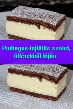 Mexican Food Recipes, Sweet Recipes, Cookie Recipes, Dessert Recipes, Hungarian Desserts, Hungarian Recipes, Sweet And Salty, Other Recipes, No Bake Cake