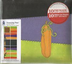 Treasuring Time Premade Album Pumpkin 20-8954 by Provo Craft Scrapbook #ProvoCraft