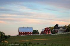 Sunset at Pineland Farms | Flickr - Photo Sharing!