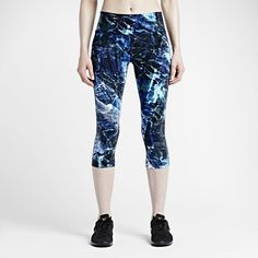 Nike Legendary Engineered Marble Tight Women's Training Capris. Nike Store