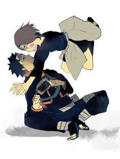 Naruto - Obito Uchiha x Rin Nohara - ObiRin