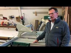 Grizzly Sliding Table Saw Review - YouTube Grizzly Tools, Table Saw Reviews, Sliding Table Saw, Woodworking, Link, Youtube, Home Decor, Decoration Home, Room Decor