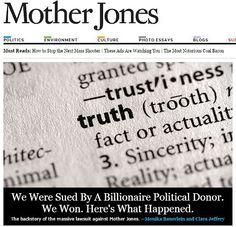 Mother Jones Prevails in Defamation Suit Filed by Idaho Billionaire Frank VanderSloot