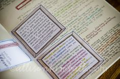 Allison Kimball's Scripture Journal Examples