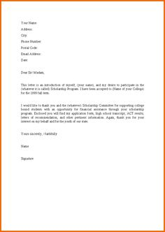 template for a letter from john smith to hr dept ...