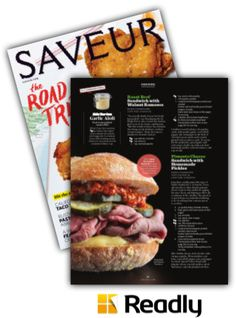 Suggestion about Saveur May 2015 page 32