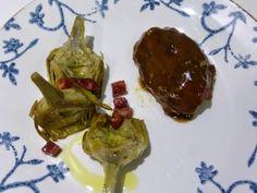 Carrillera sous vide «irresistiblemente tiernas» | Bluffant Sous Vide, Steak, Beef, Cooking Recipes, Dishes, Pork Cheeks, Beets, Entrees, Make Envelopes