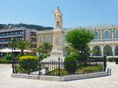 Dionysios Solomos square in #Zante.