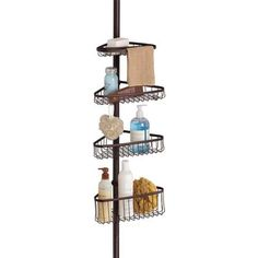 1. InterDesign York Bathroom Shower Caddy