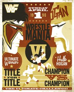 """This is the best wrestle mania of all time. Ultimate Warrior body pressed Hulk Hogan. Gorilla Monsoon gave the following ringside commentary: """"The irresitible force meets the immovable object."""""""