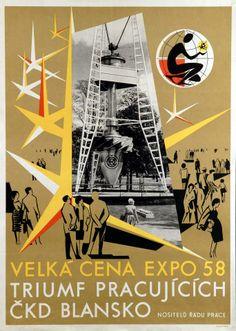 lucien de roeck, brussel 1958 #Expo2015 #Milan #WorldsFair