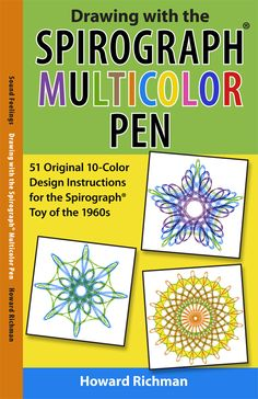 51 Original 10-Color Design Instructions for the Spirograph® Toy of the 1960s