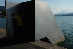 Architecture collector: Lake View, Roman Signer