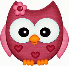 GIRL OWL CLIP ART