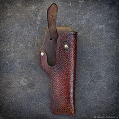 Мужские сумки ручной работы. Заказать Кобура для Colt 1911, мод.2. Labour. Ярмарка Мастеров. Нож, пистолет, бизон