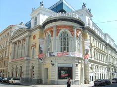 Das Ronacher, früher Etablissement Ronacher, ist ein Theater im 1. Wiener Gemeindebezirk Innere Stadt, Classical Interior Design, Vienna Austria, Theatres, Classic Style, Musicals, Mansions, House Styles, Castles, Vienna