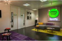 """Home Sweet London. """"Projects   Spotify, Design & Build Fit Out"""""""