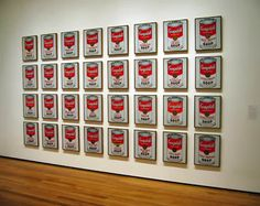 WARHOL Andy (1928-1987), Campbell s Soup Cans, 1962, 32 serigraphies à l'acrylique sur toile, 50,8x40,6 chacune, New-York, MOMA