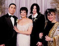 デイヴィッド・ゲストはライザ・ミネリの元夫だが、彼女との結婚式ではマイケルがベストマンを務めた。