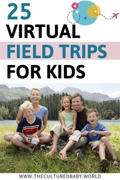 Explore the great outdoor while indoors with 25 Virtual Field Trips for Kids . Great activities for all the family. Educational Activities, Learning Resources, Kids Learning, Family Activities, Virtual Travel, Virtual Girl, Virtual Field Trips, School Closures, Kids Education