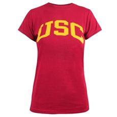 USC Women's Cardinal Arch T-Shirt