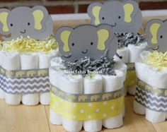 Yellow Themed Baby Shower ~ My grey and yellow baby shower grey elephant elephant baby