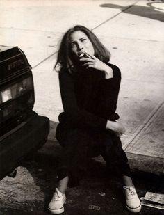 """Bentornata Christy"" Christy Turlington by Steven Meisel for Vogue Italia October 1989"