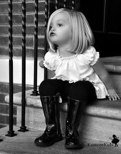 those ruffles & boots...so stinking cute!!!!
