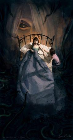 Stunning Fantasy Illustrations by Jason Chan