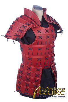 Samurai Armor by ArtisansdAzure on Etsy https://www.etsy.com/listing/214810205/samurai-armor