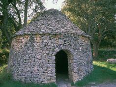 Dry Stone Hut, Borie, Ganagobie Abbey, France Photographic Print