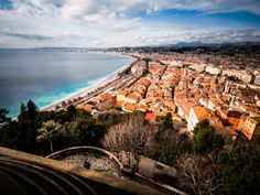 Nice, France | Nice la Belle or Nice the Beautiful is an eye-catching Mediterranean city located on - See more at: http://www.thebeautyoftravel.com/nice-the-jewel-of-the-french-riviera/#sthash.5ZwfJ4gV.dpuf
